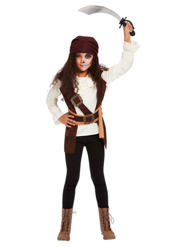Girls Dark Spirit Pirate Costume