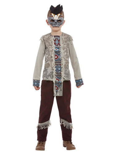 Boys Dark Spirit Warrior Costume