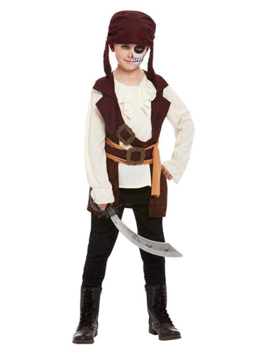 Boys Dark Spirit Pirate Costume