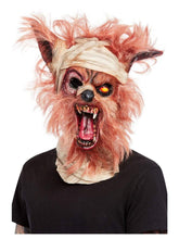 Load image into Gallery viewer, Werewolf Mummy Overhead Mask