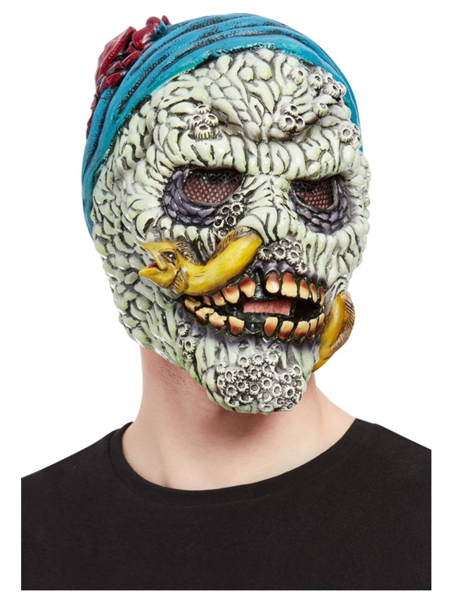Barnacle Skull Pirate Overhead Mask