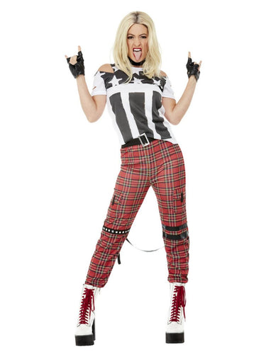 Womens 90s Punk Rocker Costume