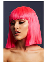 Load image into Gallery viewer, Fever Lola Wig, Neon Pink