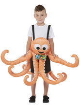 Load image into Gallery viewer, Kids Ride-In Octopus Costume