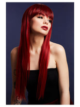 Load image into Gallery viewer, Fever Jessica Wig, Ruby Red