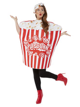 Load image into Gallery viewer, Popcorn Costume, Red & White Alternate