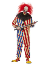 Load image into Gallery viewer, Creepy Clown Costume, Red & Blue Alternate