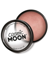 Load image into Gallery viewer, Cosmic Moon Metallic Pro Face Paint Cake Pots