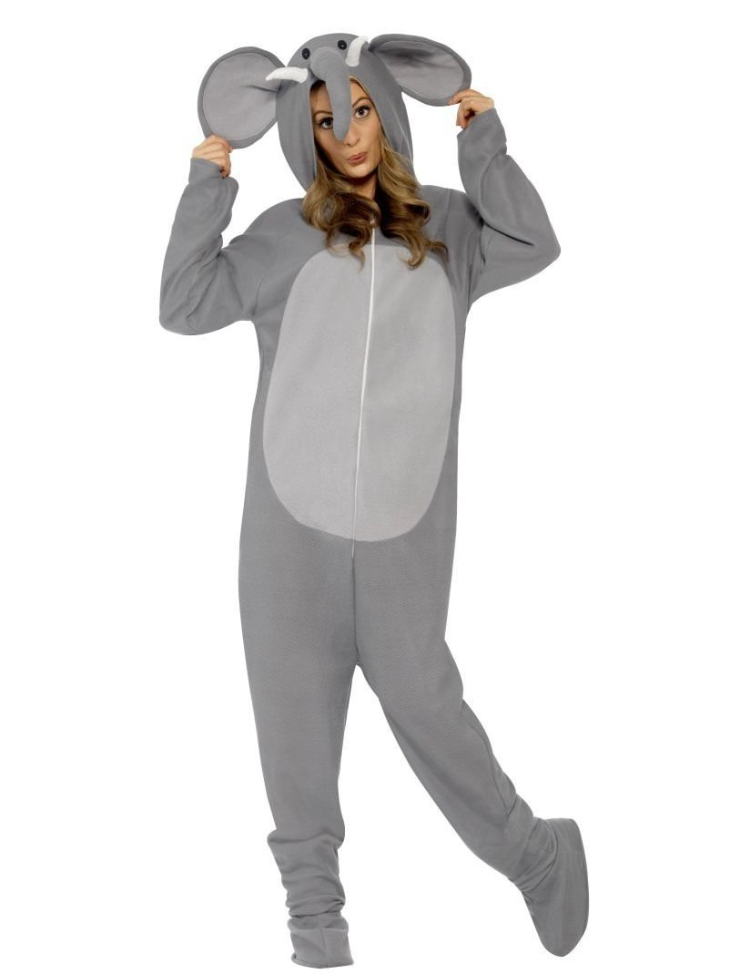Elephant Costume, All in One with Hood