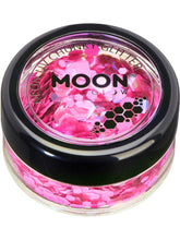Load image into Gallery viewer, Moon Glow Neon UV Chunky Glitter