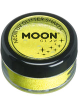 Load image into Gallery viewer, Moon Glow Neon UV Glitter Shaker