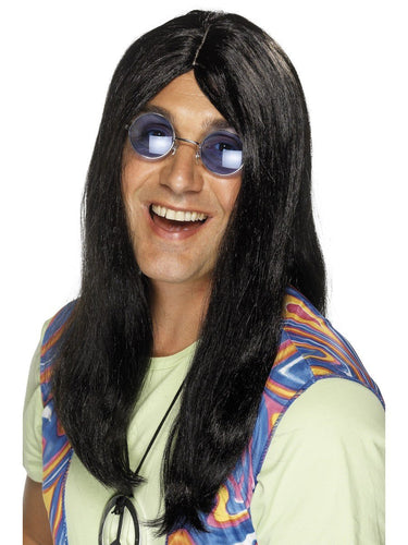 Neil Hippy Wig, Black
