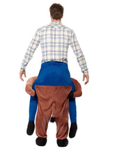 Load image into Gallery viewer, Piggyback Horse Costume Alternative View 2.jpg