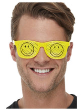Load image into Gallery viewer, Smiley Rave Glasses