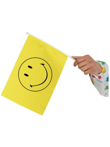 Smiley Small Handheld Flags