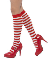 Load image into Gallery viewer, Striped Socks, Long Alternative View 1.jpg