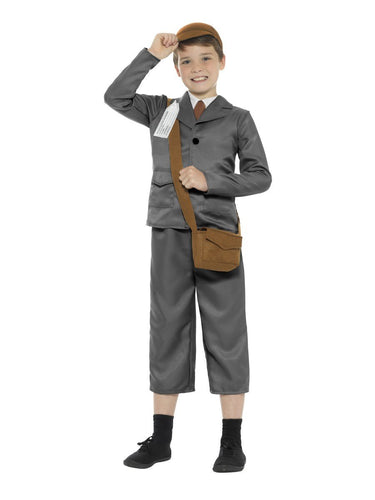 WW2 Evacuee Boy Costume, with Jacket, Trousers