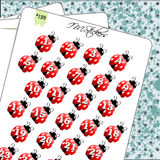 Date Covers Ladybugs