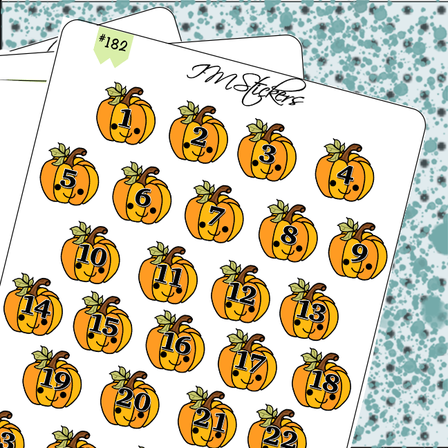 Date Covers Pumpkins