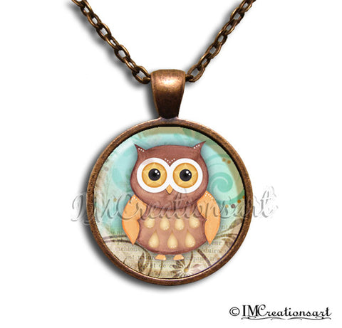 Pretty Whimsical Owl