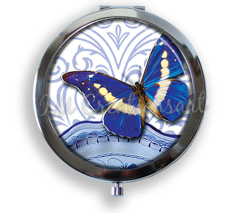 A Royal Blue Butterfly