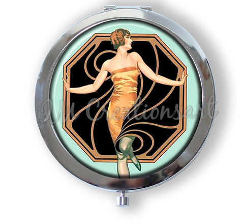 Glamour Art Deco Flapper