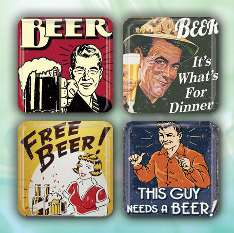 Vintage Retro Beer Signs