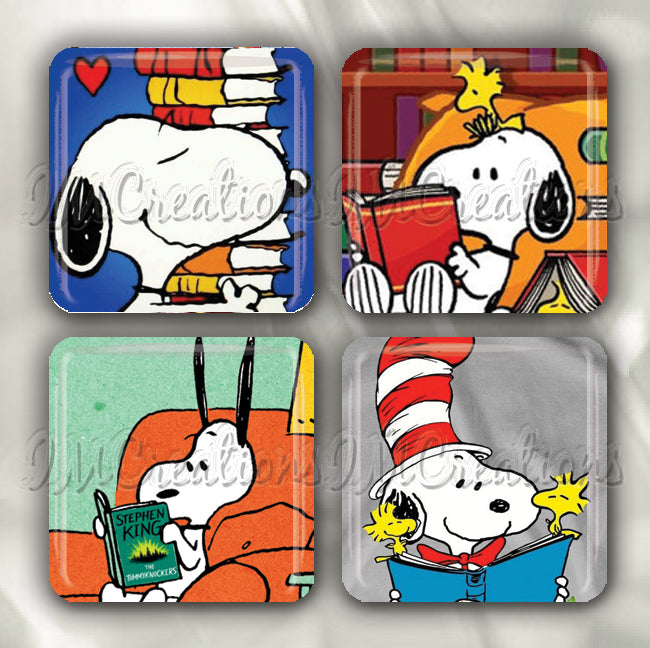 Snoopy Reading Book Lovers