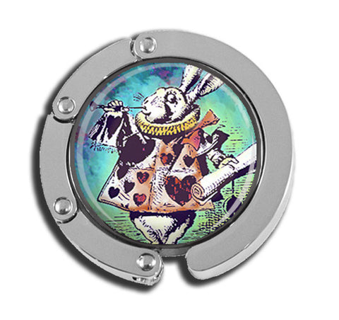 Alice In Wonderland Multicolor Rabbit with Scroll