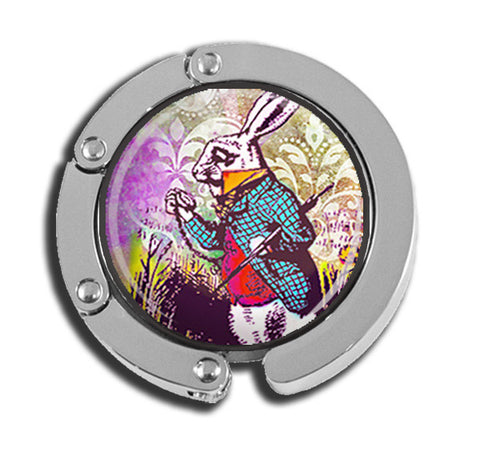 Alice In Wonderland Multicolor Rabbit It's Late