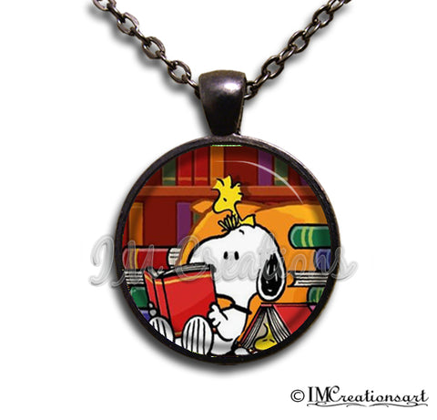 Snoopy Library Book Lovers
