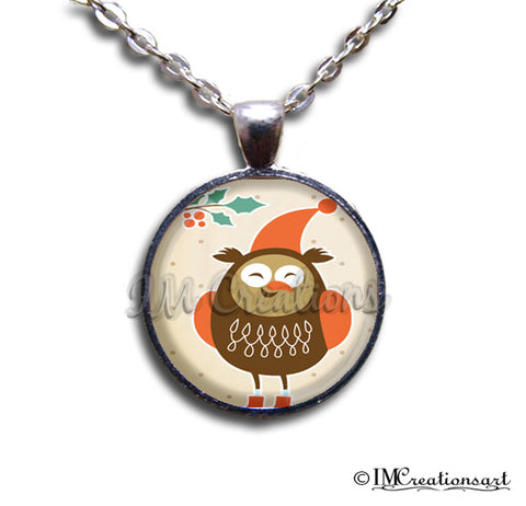 Christmas Whimsical Owl