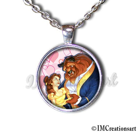 A Beauty and the Beast Valentine