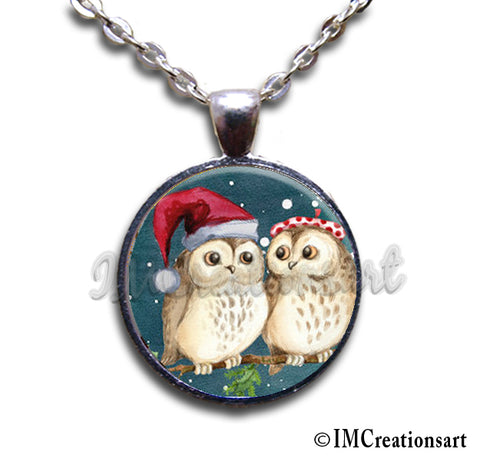Couple of Santa Owls