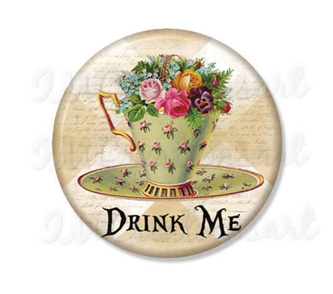 Tea Lovers Alice Drink Me