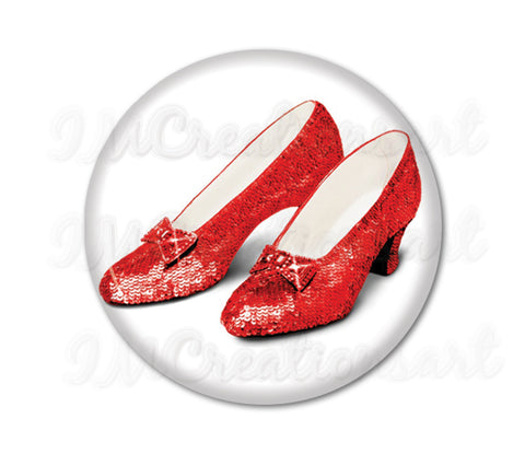 Wizard of Oz Ruby Shoes