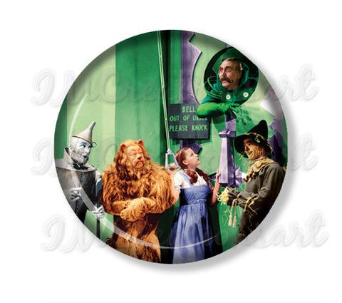 Wizard of Oz Flying Emerald City