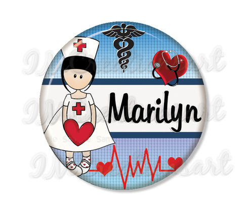 Personalized Name Nurses Doctor Medical