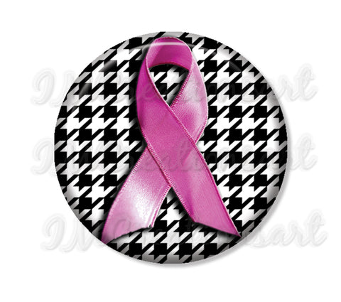 Cancer Awareness Pink Ribbon