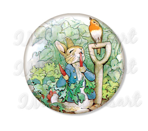 Peter Rabbit with Carrot