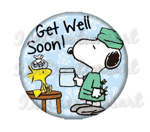 Get Well Soon Snoopy