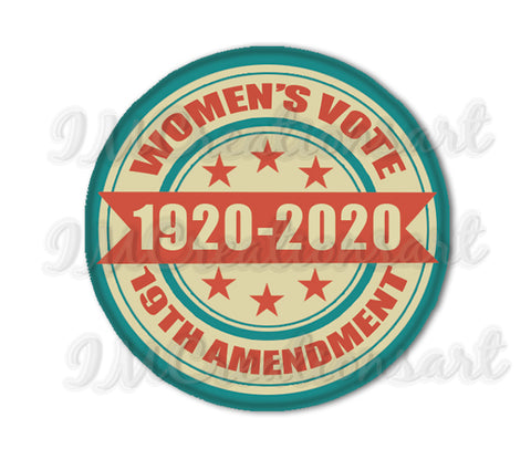 Women's Vote Woman Rights 19th Amendment Election
