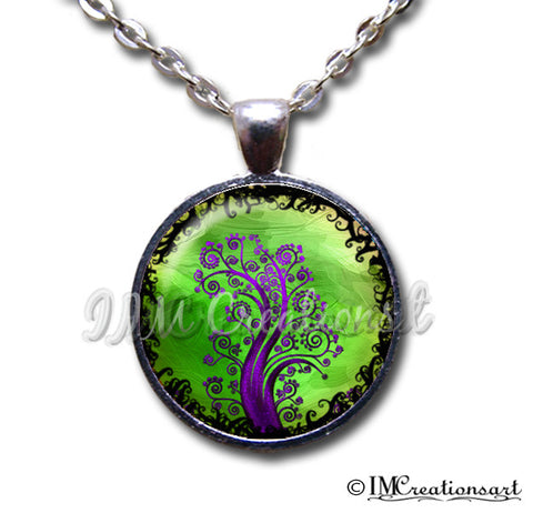 Tree of Life Purple Green
