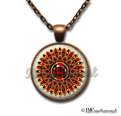 Ruby Reds Medallion