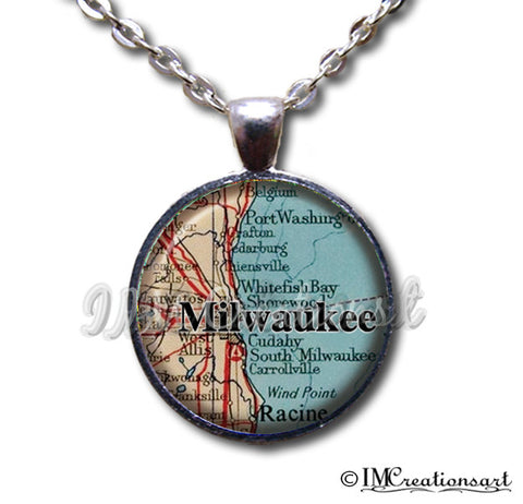 Milwaukee Wisconsin Map