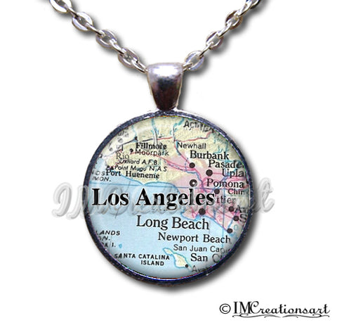 Los Angeles California Map