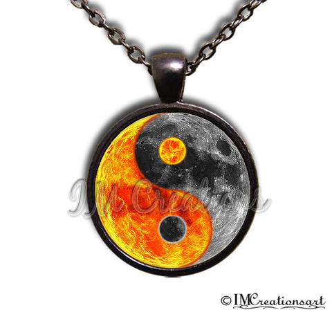 Yin Yang Sun and Moon