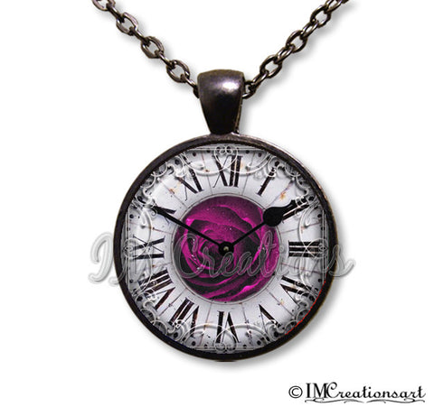 Roman Time Purple Rose