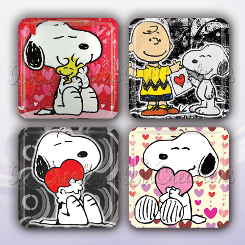 A Snoopy Love Hearts