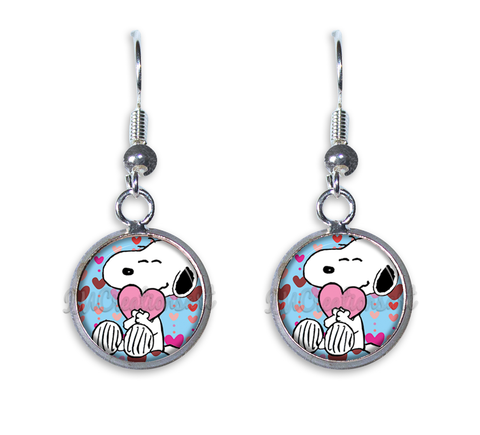 Snoopy Valentine Loving Hearts